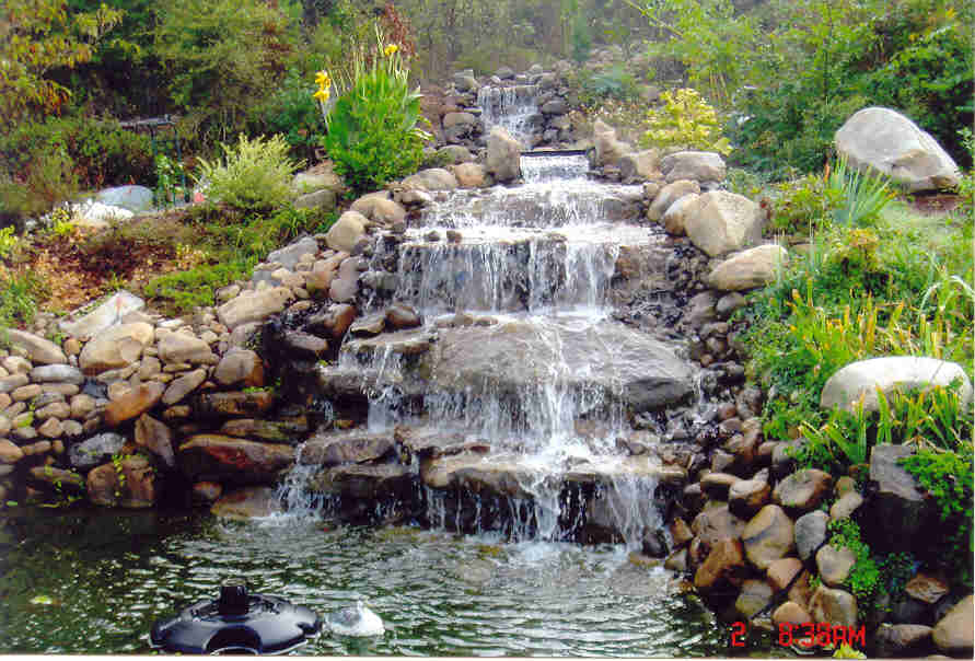 Vancouver landscape photo gallery for vancouver for Garden waterfall design